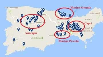 ¿Dónde dormir en Capri? Mejores hoteles y zonas donde alojarse
