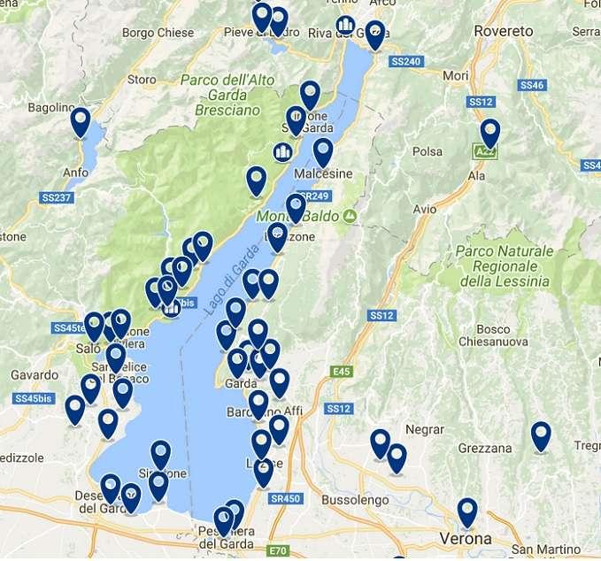 Donde Alojarse En El Lago De Garda Mejores Hoteles Y Apartamentos