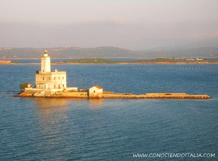 Faro isola della Bocca