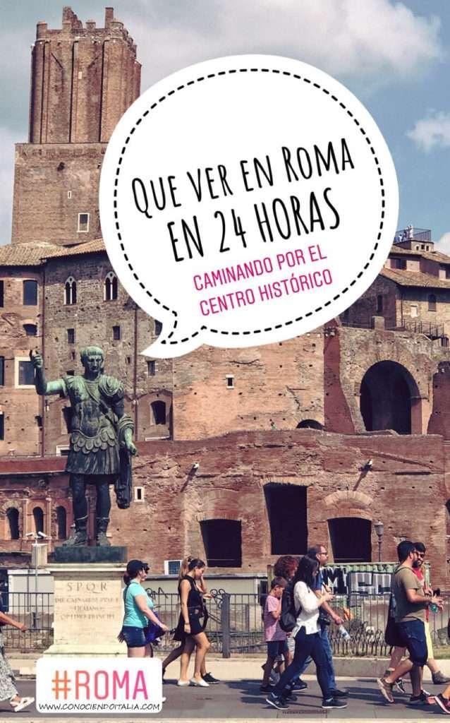 Ruta Roma en un día - Foros imperiales