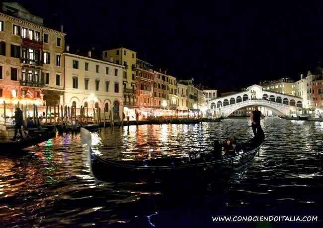 donde comer en venecia por la noche