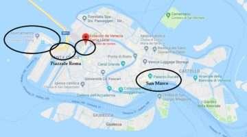 Como llegar a Venecia en tren, coche, avión y autobús