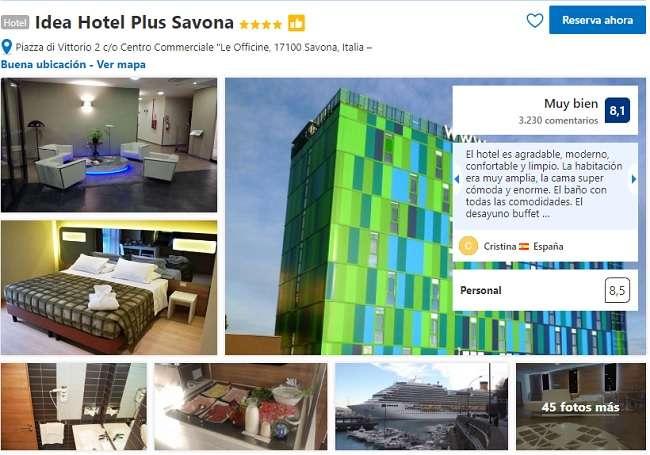Mejores hoteles donde dormir en Savona