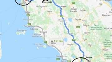 Como ir de Roma a Pisa