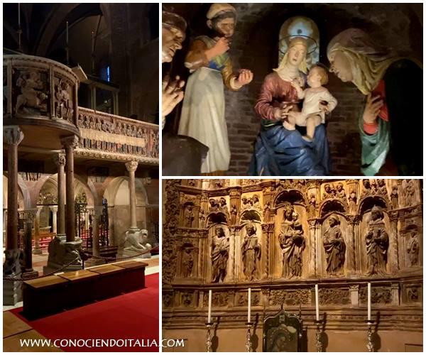 vista interna de la Catedral de Módena